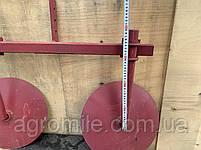 Дисковый окучник Булат Ф-420 (двойная сцепка 800 мм,круглые стойки), фото 8