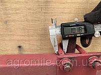 Дисковый окучник Булат Ф-420 (двойная сцепка 800 мм,круглые стойки), фото 10