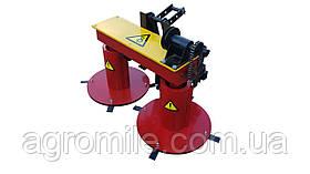 Косарка роторна мототракторная Володар КР-1,1 ПМ-2 під гідравліку (ширина косіння 110 см, з гідроциліндром)
