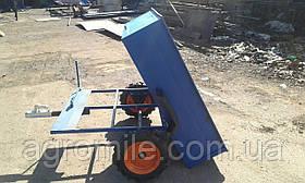Причіп-самоскид БелМет 105х120 для квадроцикла (жигул. маточина, 1 мм)