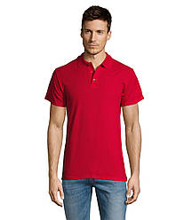 Рубашка поло SOL'S SUMMER II, Red_145, размеры от XS до XXL