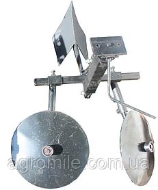 Картофелесажалка оборотная (диски 360 мм) Премиум  +передняя часть сцепки