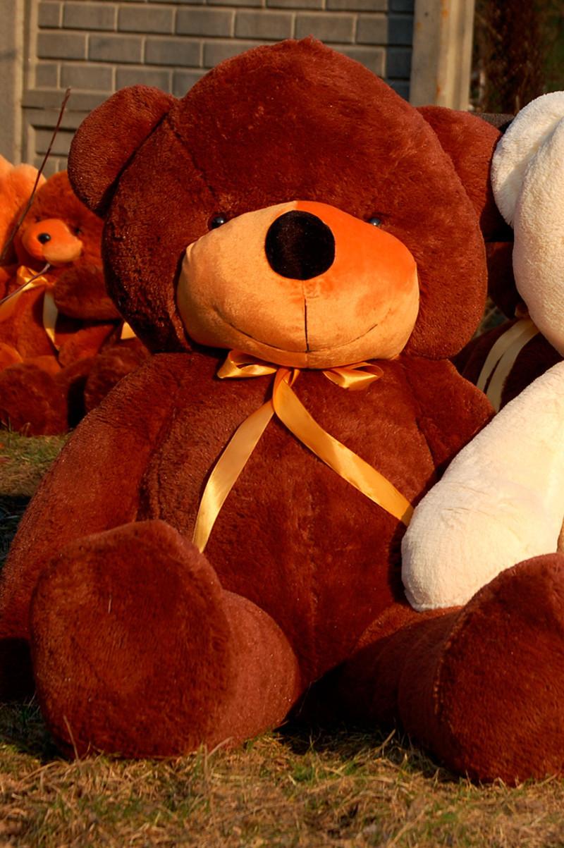⭐⭐⭐⭐❤️Плюшевый Мишка 2 метра в Подарок. Большой Плюшевый Медведь 200 см Шоколадный. Мягкая игрушка Мишка.