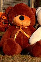 Мишка плюшевый Toys цвета шоколад 200 см