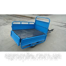 Причіп Кентавр ПМ-0,6 С (100×140 см, колеса 5.00-12)