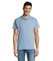 Рубашка поло SOL'S SUMMER II, Sky-blue_200, размеры от XS до XXL