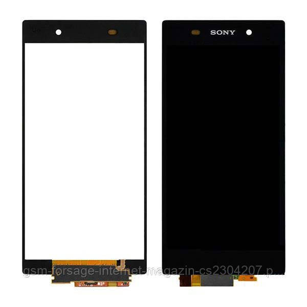 Дисплей Sony Xperia Z2 D6502, D6503 complete Black