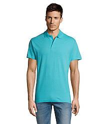 Рубашка поло SOL'S SUMMER II, Atoll-blue_225, размеры от XS до XXL