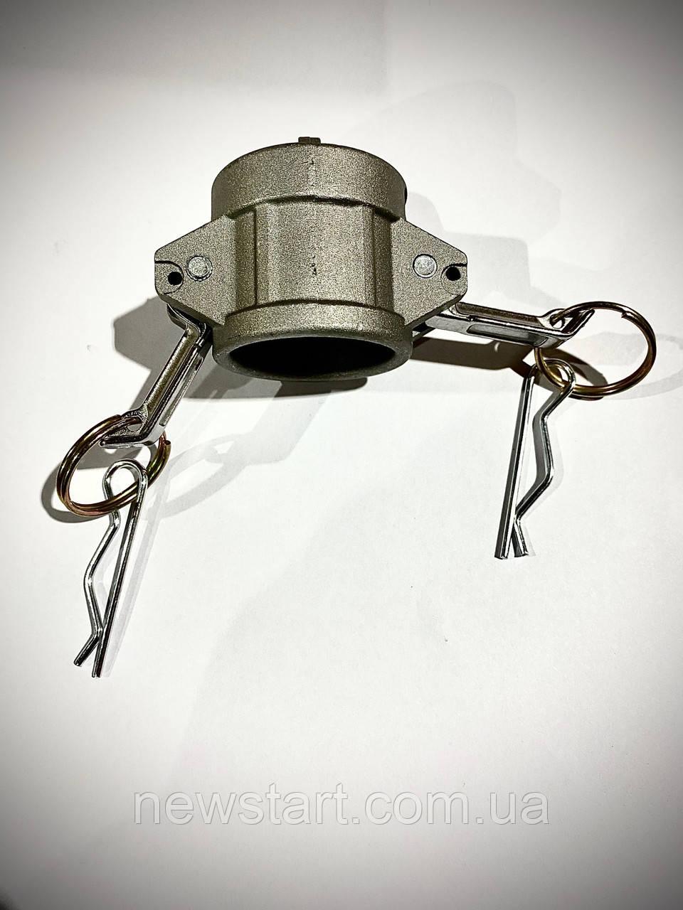 Камлок заглушка (camlock) алюміній тип DС