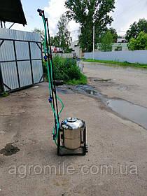Опрыскиватель для мотоблока Бут 50 л (нержавейка, с компрессором)