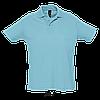 Рубашка поло SOL'S SUMMER II, Atoll-blue_225, размеры от XS до XXL, фото 2