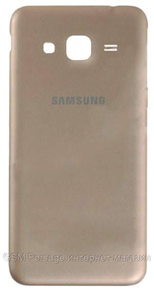 Задняя часть корпуса samsung galaxy j3 j320 (gold)