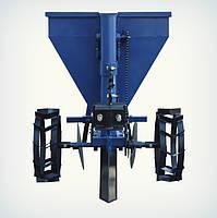 Картоплесаджалка Преміум для мототрактора (60 л, бункер для добрив), фото 4