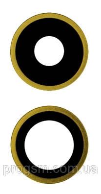 Скло камери iPhone 11 (комплект 2шт.) Yellow