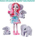 Enchantimals Family Esmeralda Elephant Набор Кукла энчантималс слоненок Эсмеральда Енчантімалс слон, фото 3