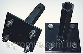 """Піввісь """"Zirka 105"""" """"Преміум"""" (кована шестигранна труба, діаметр 32 мм, довжина 170 мм)"""