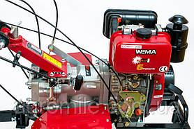 Коробка передач WEIMA для мотоблока 1100, 105, 135 (6 передач), Ходоуменьшитель