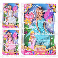 "Кукла Defa Lucy ""Принцесса Цветок"": 3 вида, аксессуары в комплекте"