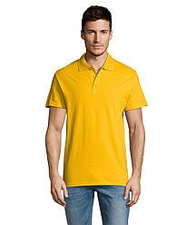 Рубашка поло SOL'S SUMMER II, Gold_301, размеры от XS до XXL