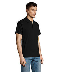 Рубашка поло SOL'S SUMMER II, Black_312, размеры от XS до XXL