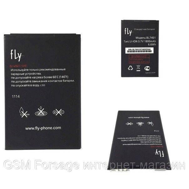 Акумулятор Fly BL7401 (1800 mAh) IQ238 Jazz