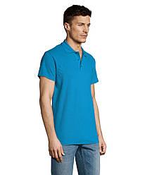 Рубашка поло SOL'S SUMMER II, Aqua_321, размеры от XS до XXL