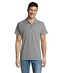 Рубашка поло SOL'S SUMMER II, Grey-melange_360, размеры от XS до XXL