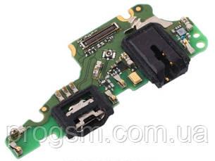 Разъем Зарядки Huawei Mate 10 Lite, Nova 2I, Honor 9I, G10 (С Платкой) H/C
