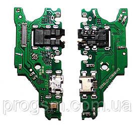 Разъем Зарядки Huawei Nova 3I, P Smart Plus (С Платкой)