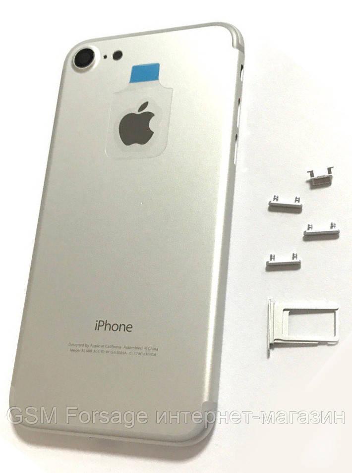 Крышка задняя iPhone 7 (4.7) Silver