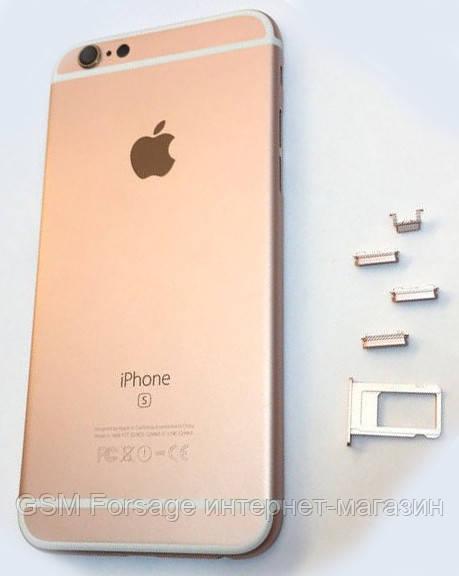 Крышка задняя iphone 6s (4.7) rose gold