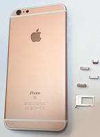 Крышка задняя iPhone 6S Plus (5.5) Rose Gold
