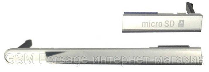 Заглушка корпуса (набор) sony xperia m2 dual d2302 white