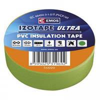 Изолента ПВХ EMOS 19/20 green (F61929)