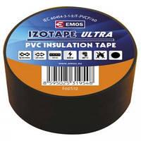 Изолента ПВХ EMOS 25/10 black (F62512)