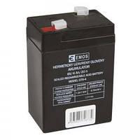 Аккумулятор свинцово-кислотный EMOS DHB640 (B9641)