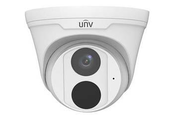 2 Мп купольна IP-відеокамера Uniview IPC3612LB-ADF28K зі слотом для Micro SD карти