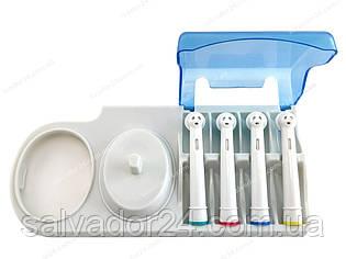 Подставка для зубной щетки и  четырех насадок Oral-B