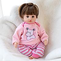 Кукла реборн силиконовая девочка 48см. 01135, фото 1