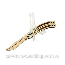 Деревянный нож - бабочка