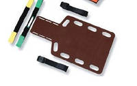 Плита иммобилизационная для спинного отделения, короткая, деревянная, Attucho