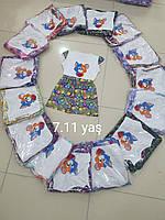 """Платье детское для девочки """"Том и Джери"""" размер 7-11 лет,цвет уточняйте при заказе"""