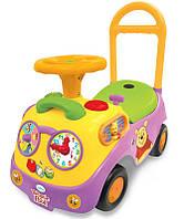 Чудомобиль Kiddieland Первое авто Винни со светом и звуком