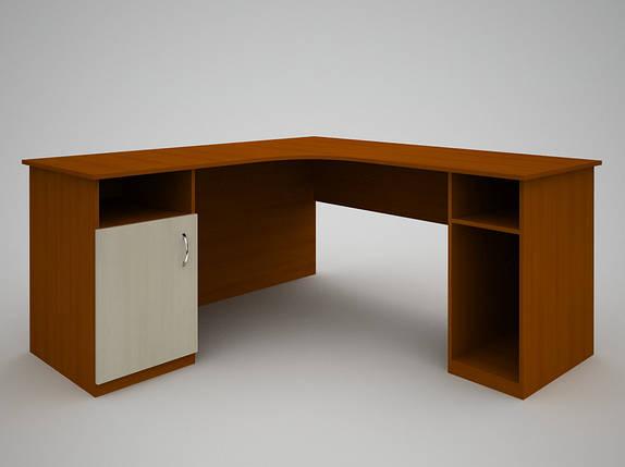 Письмовий прямий офісний стіл FlashNika / ФлешНика З-39 (1400), фото 2