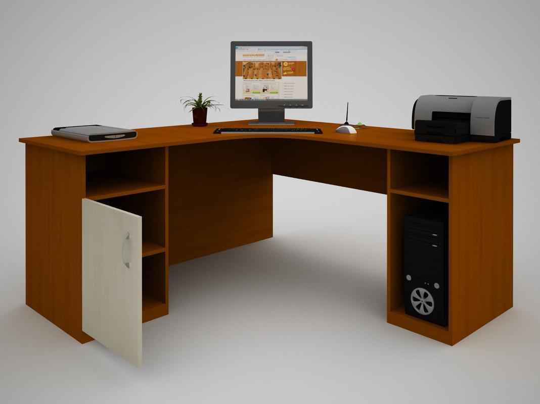 Письмовий прямий офісний стіл FlashNika / ФлешНика З-39 (1400)