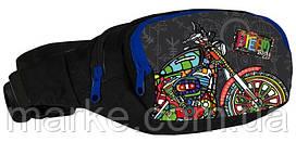 Поясна сумка Paso BDF-590 різнокольорова