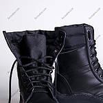 Берцы Зимние, Военные Торнадо Черный, фото 6