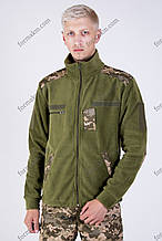 Флисовая Кофта Военная Олива