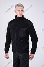 Флисовая Кофта Черная для Полиции