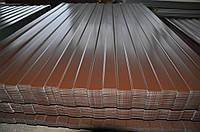 Профнастил С-10 RAL8017 (коричневый) 0,4мм  стеновой